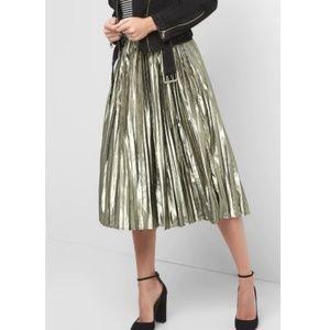 GAP Metallic Party Skirt